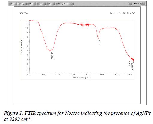 biomedres-FTIR-spectrum