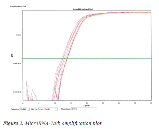 biomedres-MicroRNA-amplification-plot