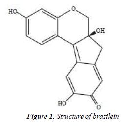 biomedres-Structure-brazilein